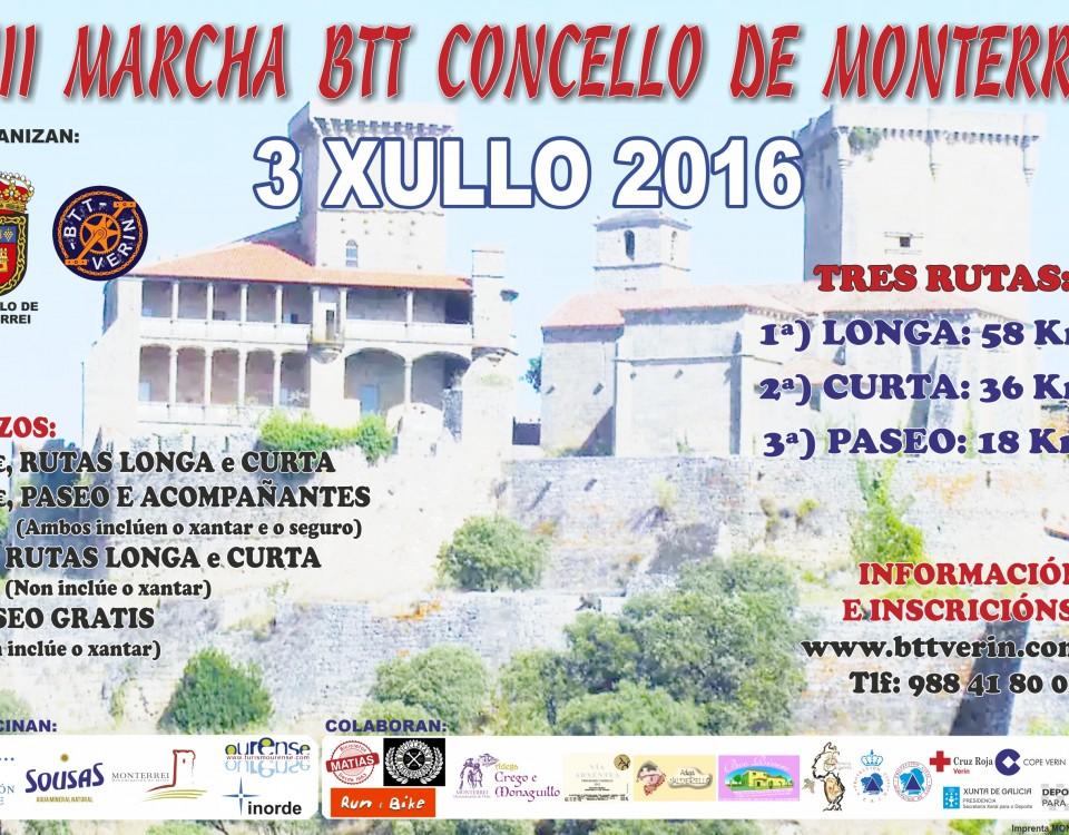 Marcha Concello Monterrei
