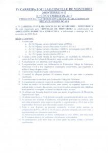 NORMAS IV CARREIRA POPULAR