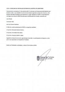 ACTA CONCURSO DE PINTURA