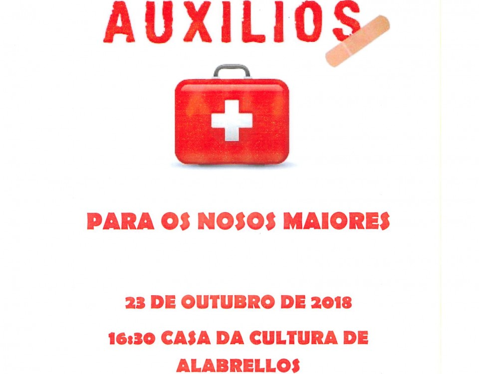 CHARLA PRIMEIROS AUXILIOS