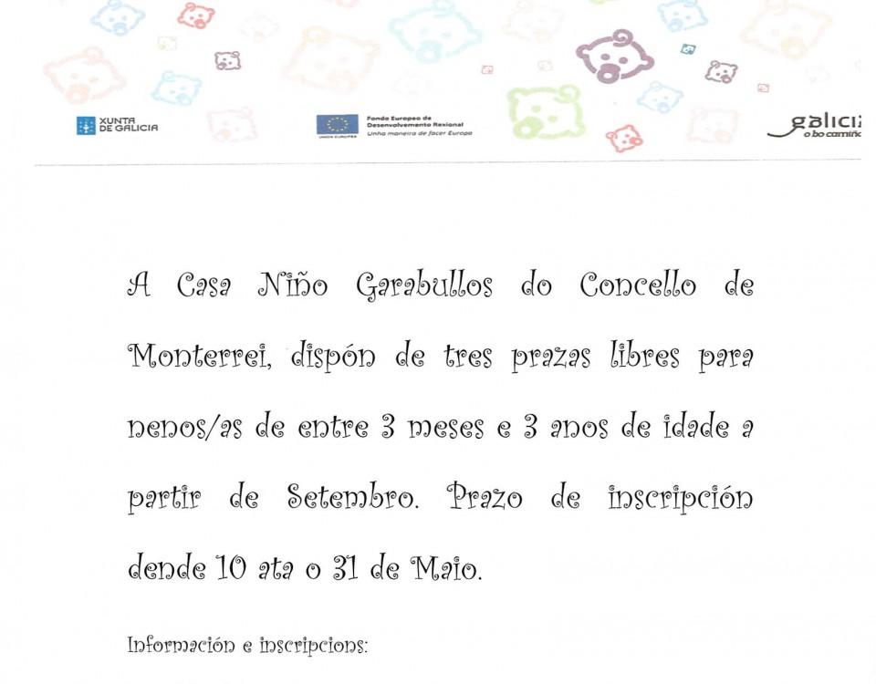 ANUNCIO CASA NIÑO GARABULLOS